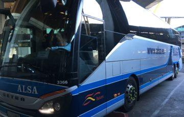 アルサのバス